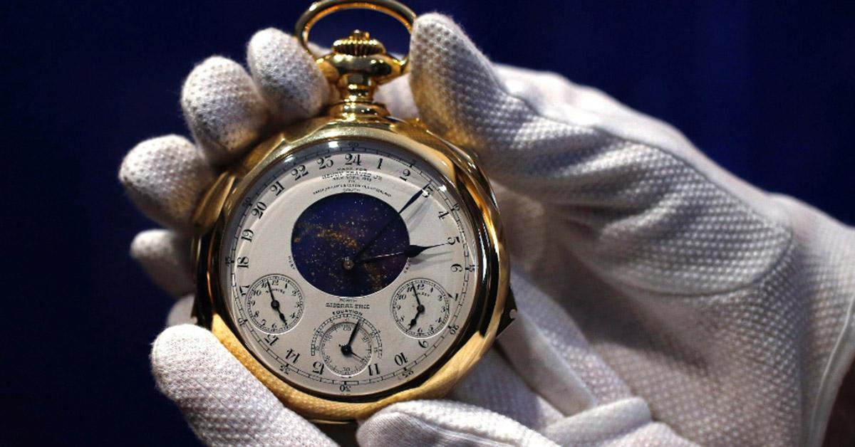 Patek Philippe Supercomplication Pocket Watch