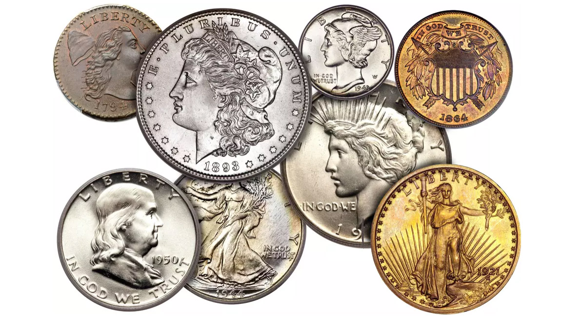 Top 10 coins to collect.