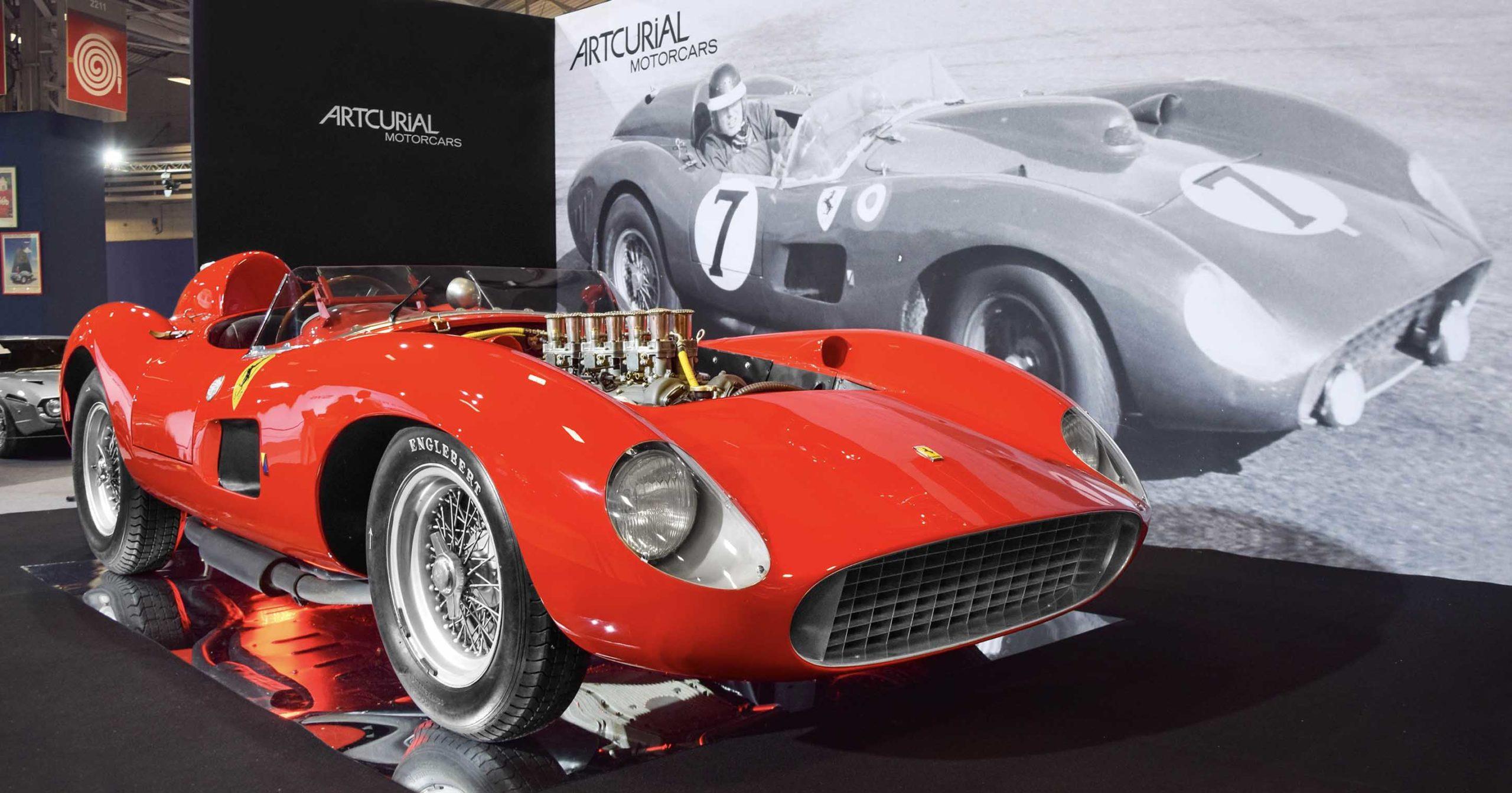 A nice Ferrari showcased.